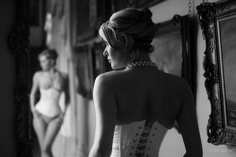 Implied Nude Fashion Photo by Photographer damienlovegrove