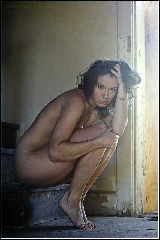 Implied Nude Figure Study Photo by Model Amy Marie