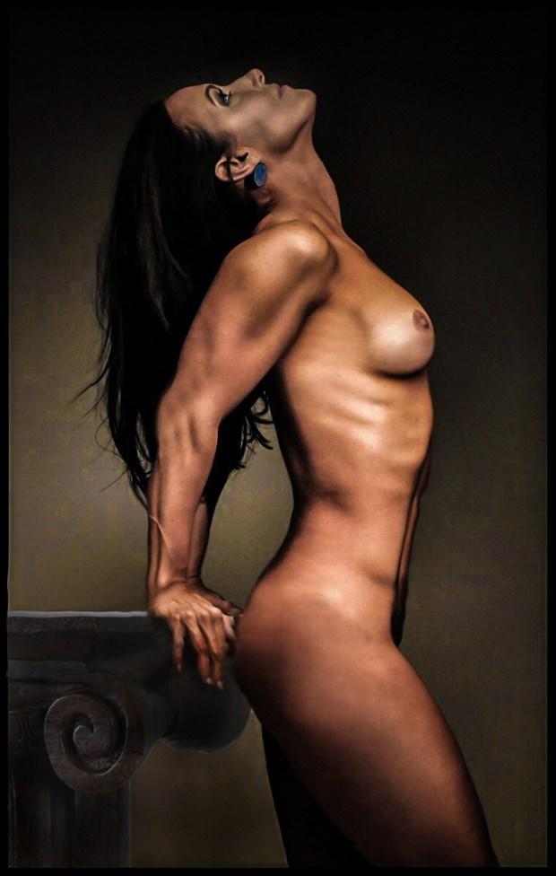 Implied Nude Figure Study Photo by Model AnayaVivian