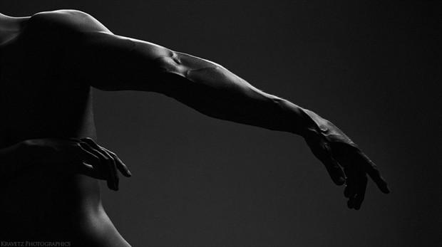 Implied Nude Figure Study Photo by Photographer Sasha Onyshchenko