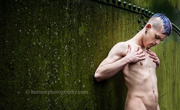 Implied Nude Figure Study Photo by Photographer humon photography