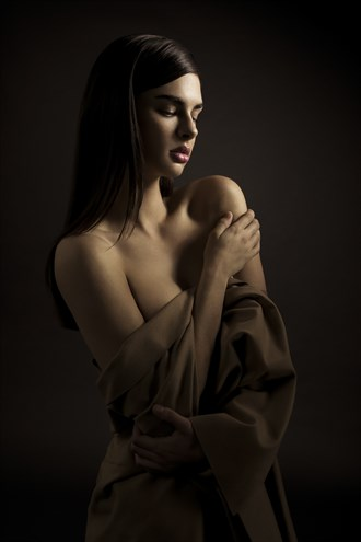 Implied Nude Figure Study Photo by Photographer nfilbert