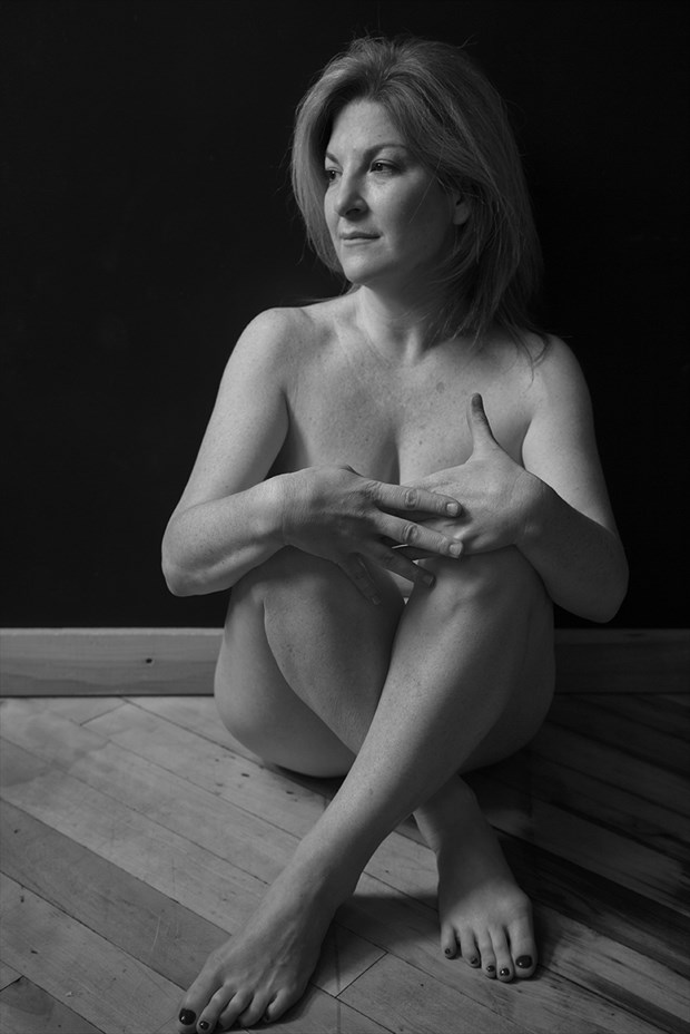 Implied Nude Natural Light Photo by Model JustAlice