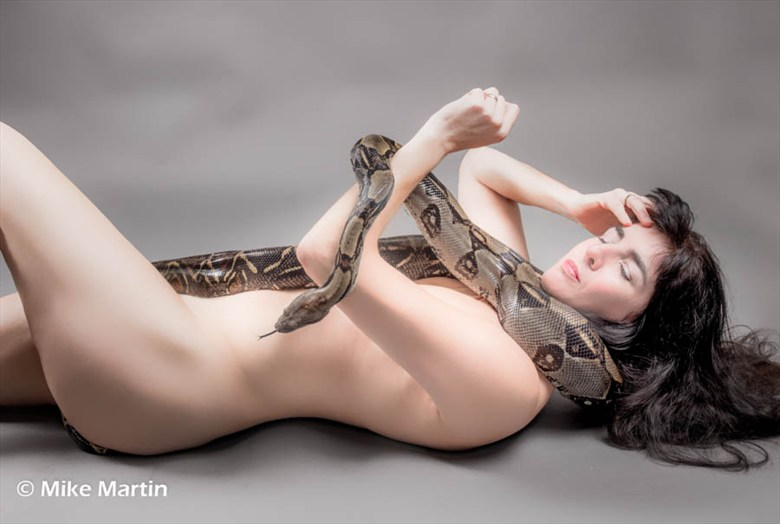 Implied Nude Photo by Model Catherine Williams
