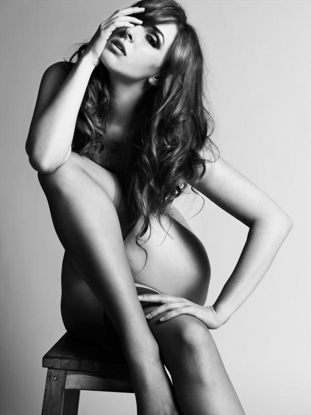 Implied Nude Photo by Model Dane Halo