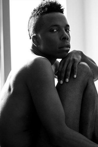 Implied Nude Photo by Model Orlando Parker Jr