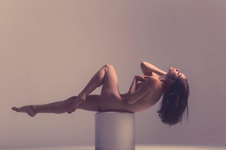 Implied Nude Photo by Model Tess