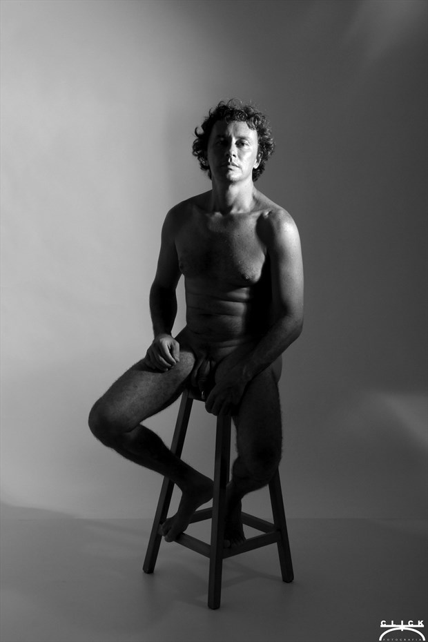 Implied Nude Self Portrait Photo by Photographer Bruno Lob%C3%A3o