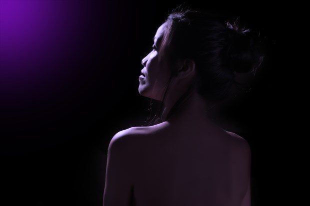 Implied Nude Soft Focus Photo by Photographer aebrownphotography