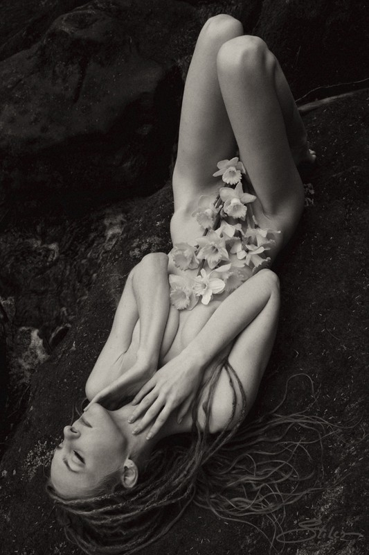 In Bloom Artistic Nude Photo by Artist Kevin Stiles