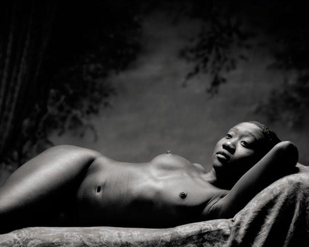 In Repose Artistic Nude Photo by Photographer Ektar