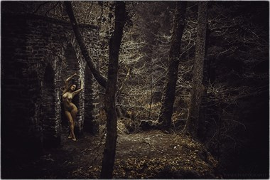 In The Night Garden Artistic Nude Photo by Photographer Lanes Photography