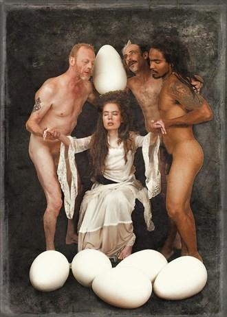 In Virgin Wake Is Risen Man Artistic Nude Photo by Model Jocelyn Woods