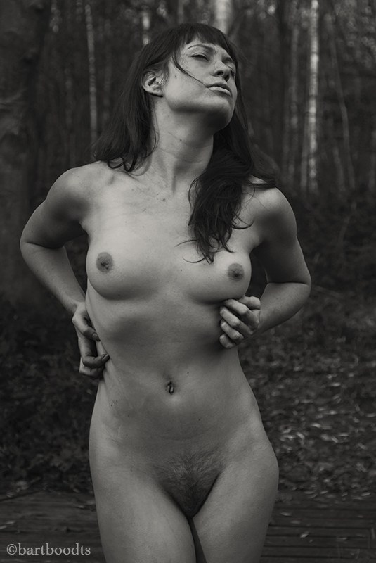 In nature, searching Artistic Nude Artwork by Photographer Bart Boodts