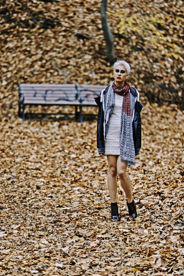 In the Forest Nature Photo by Model Natalia Pillgim