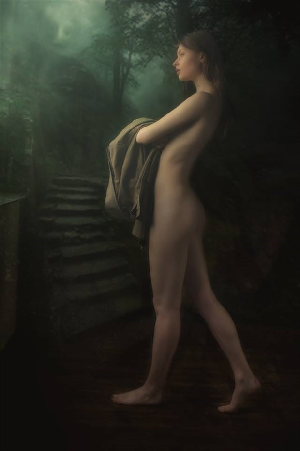 In the Garden of Eden Artistic Nude Artwork by Model Florence