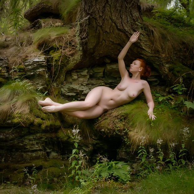 In the Green Artistic Nude Photo by Photographer Rascallyfox