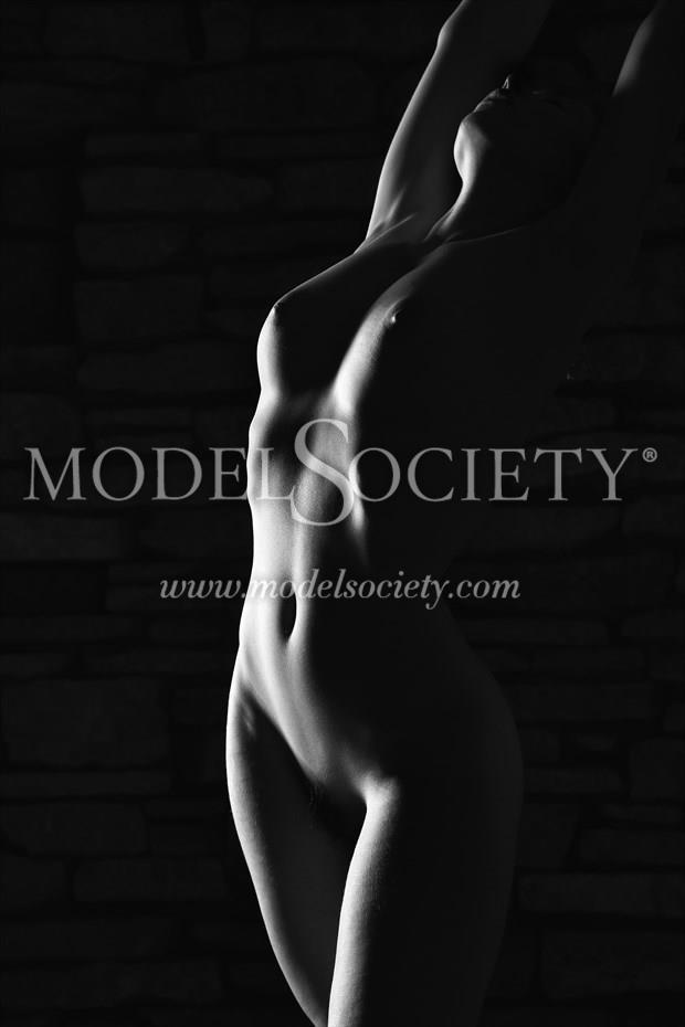 In the Shadows Artistic Nude Photo by Photographer Carl Grim