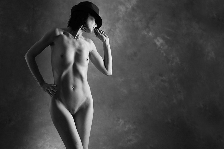 In the Shadows.. Artistic Nude Photo by Model Marmalade