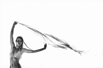 In the Wind Bikini Photo by Photographer RobertS