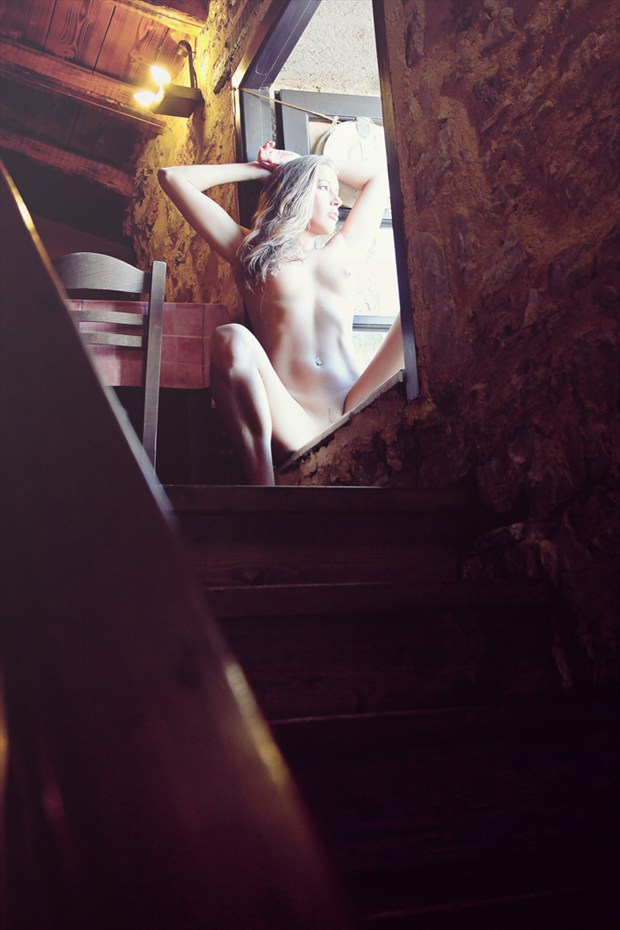 In the Window Artistic Nude Photo by Photographer Omega Photography