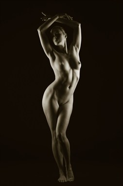 In the light Artistic Nude Photo by Model Em Theresa