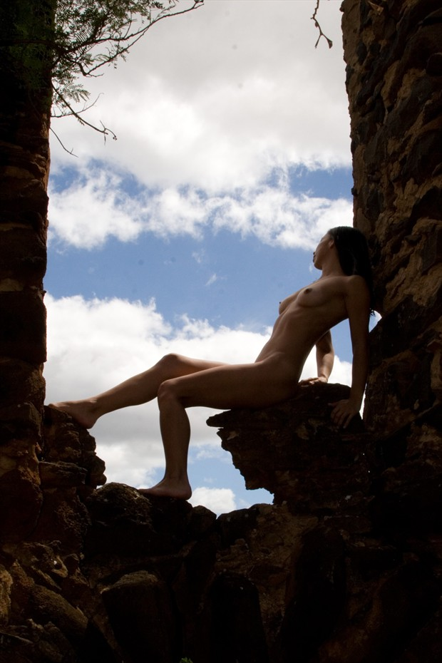In the ruins Artistic Nude Photo by Photographer Naked in Paradise