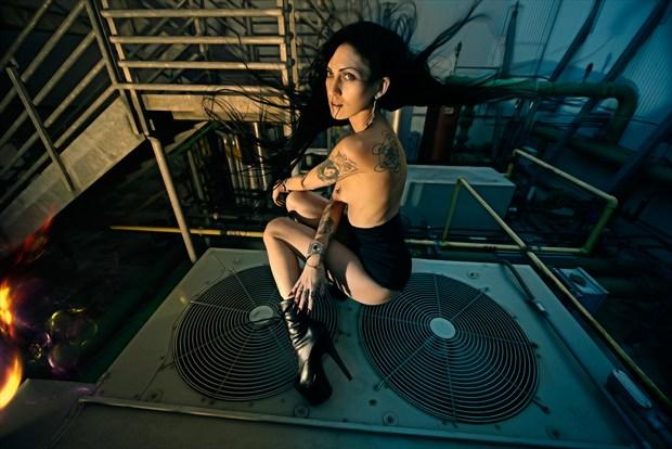 Industrial Artistic Nude Artwork by Photographer Mindplex