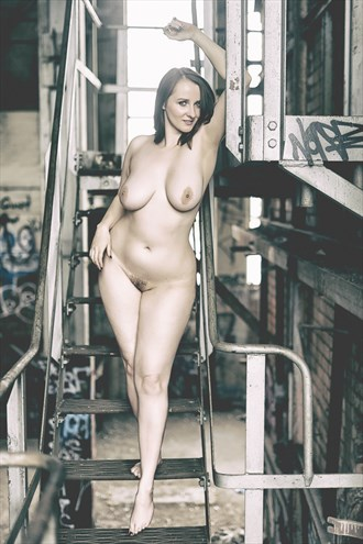 Industrial Artistic Nude Photo by Photographer Sam Dickinson
