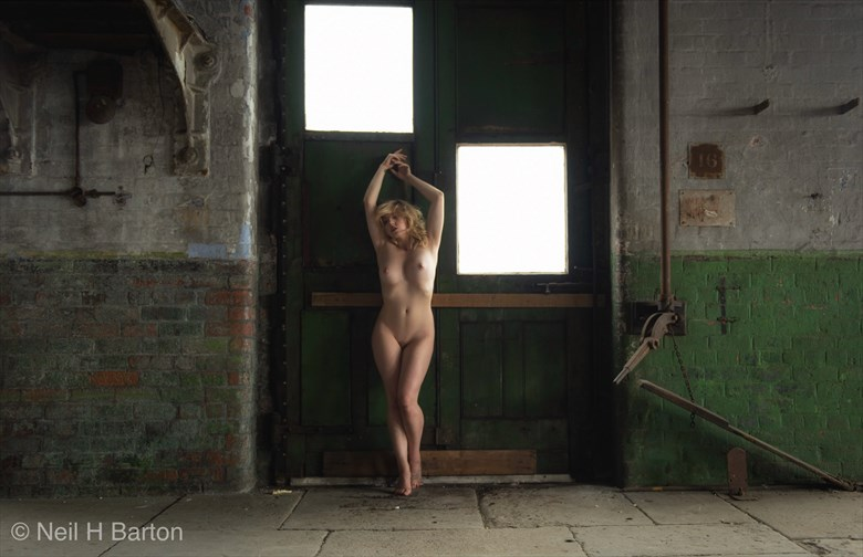 Industrial Beauty  Artistic Nude Photo by Photographer NeilH