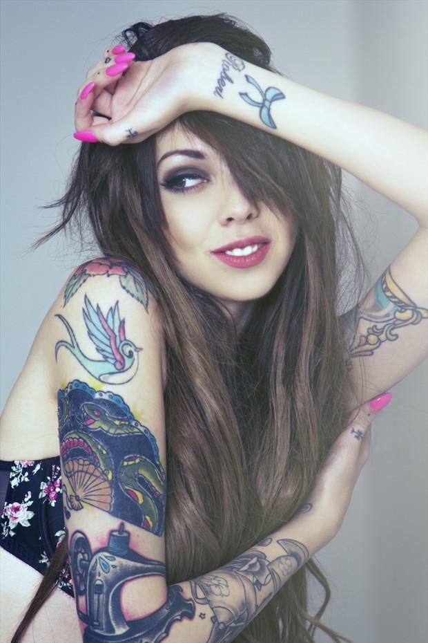 Infallible Tattoos Photo by Photographer Darryl J Dennis