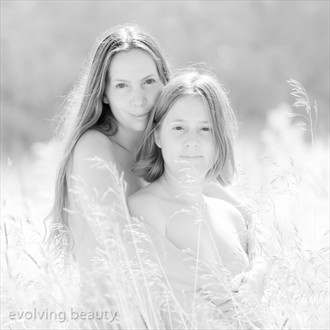 Ingrid and Miranda Artistic Nude Photo by Photographer Eric Boutilier Brown