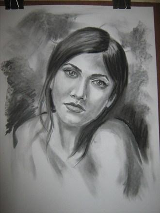 Inna Portrait Artwork by Artist Daniel