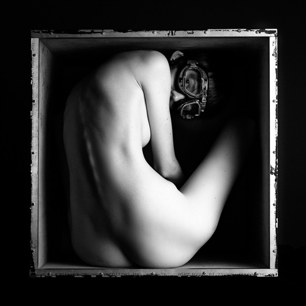 Inside, looking out Artistic Nude Photo by Photographer Lumin