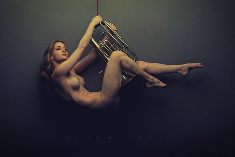 Instrumental Artistic Nude Photo by Model MelissaAnn