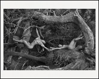 Intertwined Artistic Nude Photo by Artist LightBrushedImages