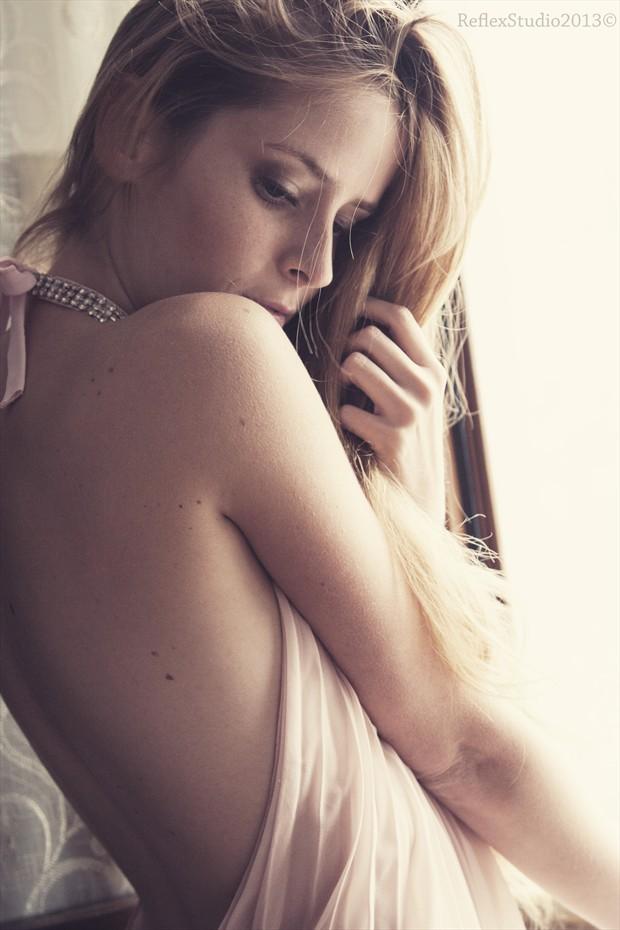 Intimacy Glamour Photo by Model Alessandra