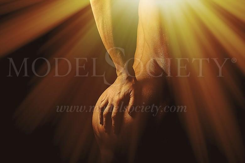 Into the Light Artistic Nude Photo by Model Helen Saunders