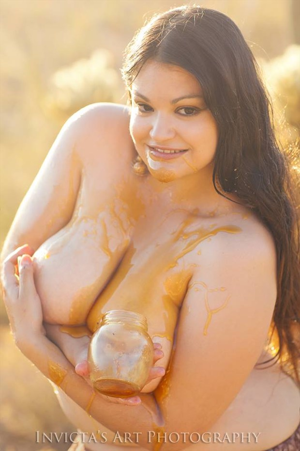 Invicta's Art Photography Artistic Nude Photo by Model Desert Rose