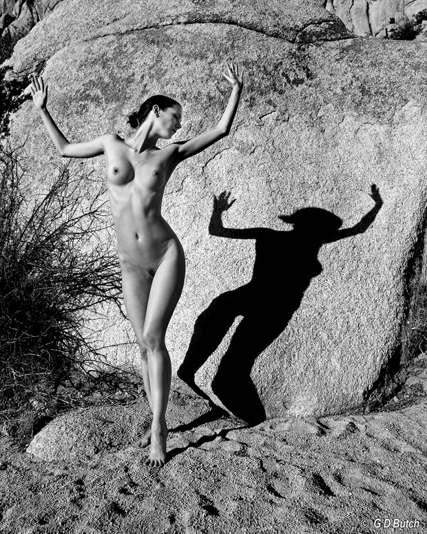Iona in California. Artistic Nude Photo by Photographer George Butch