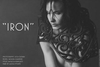 Iron Artistic Nude Photo by Photographer Luca Kronos Cassar%C3%A0