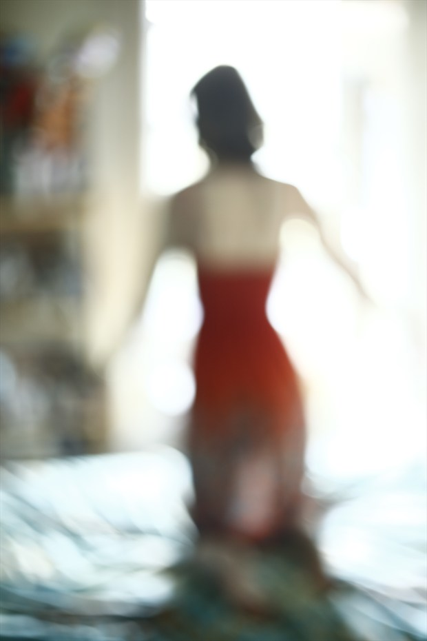 It's All a Blur Experimental Photo by Model Elki