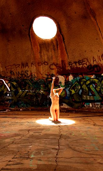 It Got Too Bright Today Artistic Nude Photo by Model Ember No%C3%ABlle