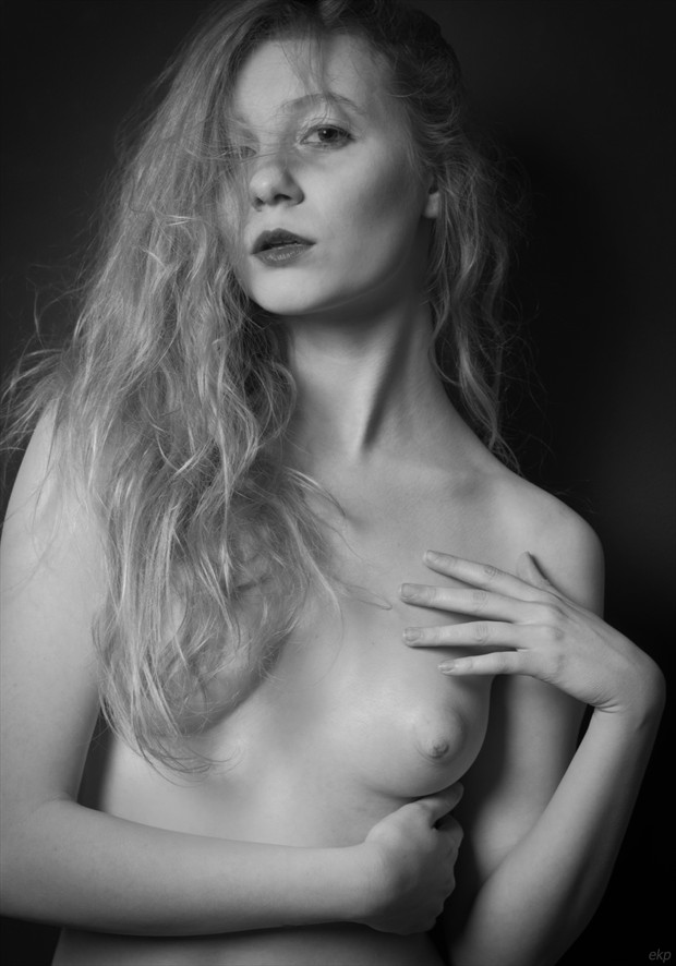 It is not your beautiful face or soft skin that kills me; it is your simplicity and being you Artistic Nude Photo by Photographer Ellie Kellam