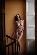 Iveta On The Stairwell Artistic Nude Photo by Photographer Ciaran