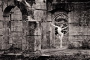 Ivory Flame   nude on in the ruins Artistic Nude Photo by Photographer Barrie
