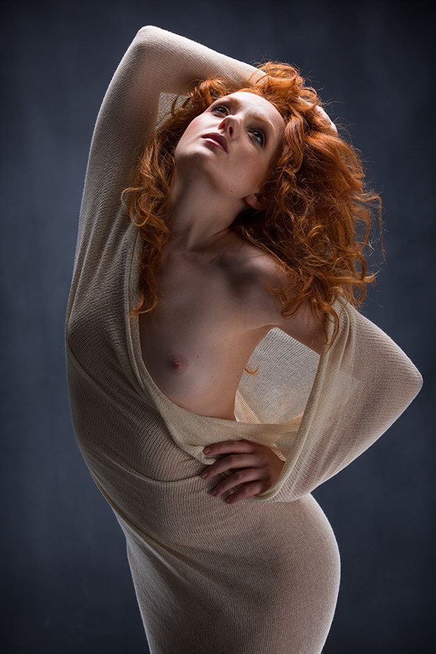 Ivory Flame Artistic Nude Photo by Photographer Rossomck