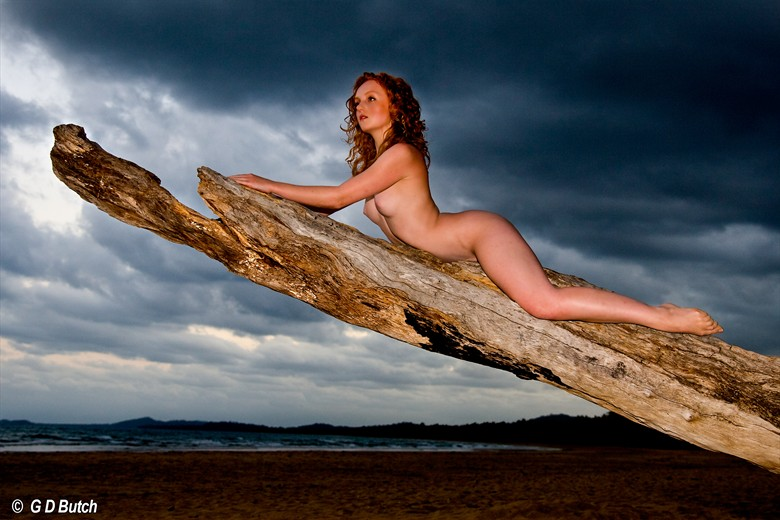 Ivory Flame in Australia Artistic Nude Photo by Photographer George Butch