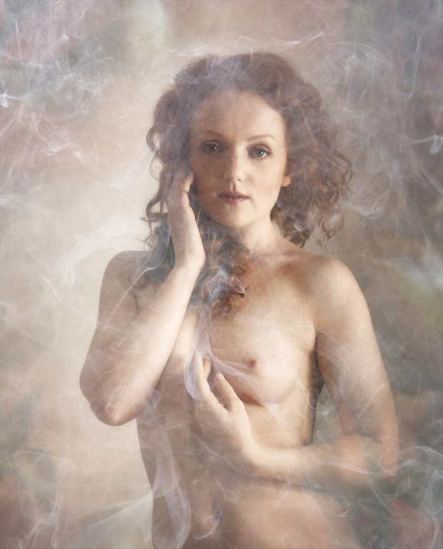 Ivory and Smoke Artistic Nude Photo by Photographer Ray Kirby