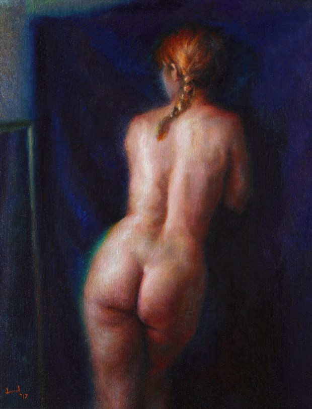 Ivy (Study) Artistic Nude Artwork by Artist JFisher86